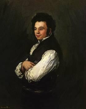 Tubercio Paez Cuervo 1820 by Goya Francisco