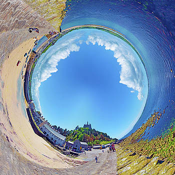 Tubular Panorama St. Michael's Mount by Frans Blok