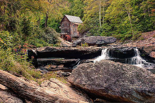Tucked Away - Historic Old Mill Photography by Gregory Ballos