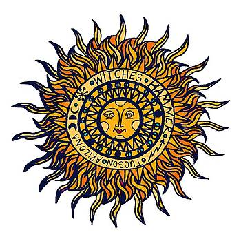 Tucson  Arizona Del Sol by Vagabond Folk Art - Virginia Vivier