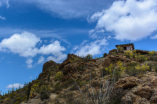Tucson Mountains by Pat Scanlon