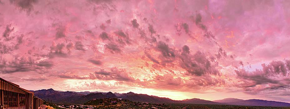 Tucson Sunset 1 by Kayta Kobayashi