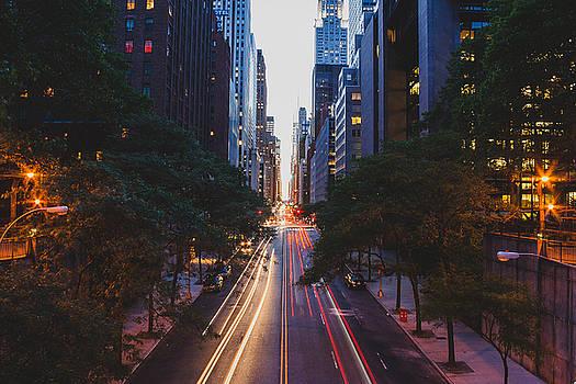Tudor City Bridge - New York City by Thomas Richter