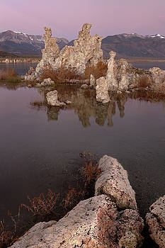 Tufa and Mountains by Francesco Emanuele Carucci