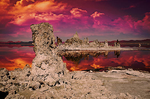 Tufa at Mono Lake by Jeff Burgess