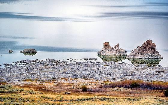 Tufa Formations at Mono Lake by AJ Schibig