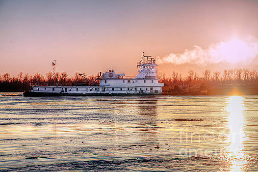 Larry Braun - TOWBOAT on the Mississippi