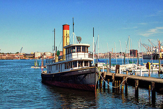 Bill Swartwout Fine Art Photography - Tugboat Baltimore at the Museum of Industry