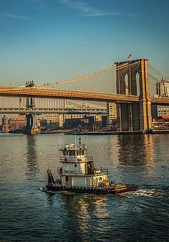 Tugboat NYC by Alida Thorpe