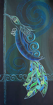 Tui Bird 2 by Reina Cottier