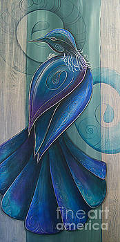 Tui Bird 3 by Reina Cottier