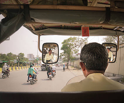 Tuk Tuk view by Paki O'Meara