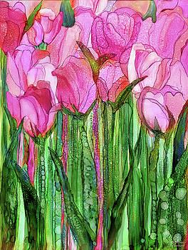 Tulip Bloomies 1 - Pink by Carol Cavalaris