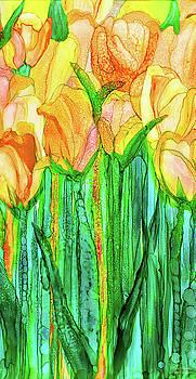Tulip Bloomies 2 - Yellow by Carol Cavalaris