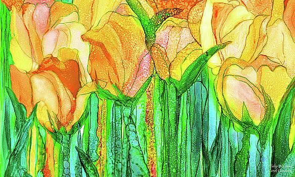 Tulip Bloomies 3 - Yellow by Carol Cavalaris