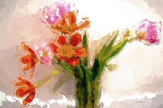 Tulip Explosion by Shari Whittaker