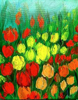Tulip Field by Jacqueline Whitcomb