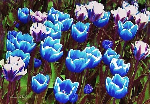 Tulip Flowers 4 by Susanna Katherine
