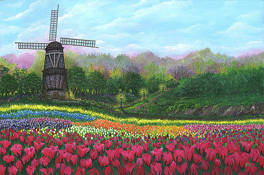 Tulip Garden by Bonnie Cook