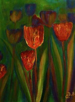 Claire Bull - Tulip Garden