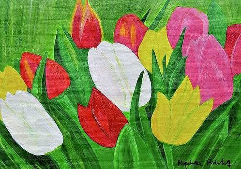 Tulips 2 by Magdalena Frohnsdorff