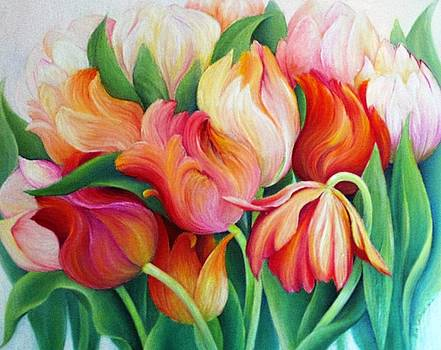 Tulips by Barbara Anna Cichocka