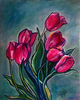 Tulips Boquet by Art by Kar