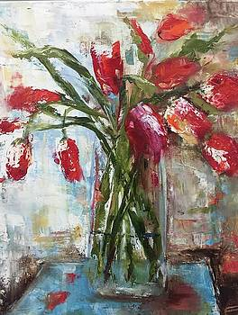 Tulips by Debbie Frame Weibler