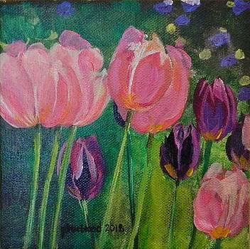 Tulips for Carol by Pamela Trueblood