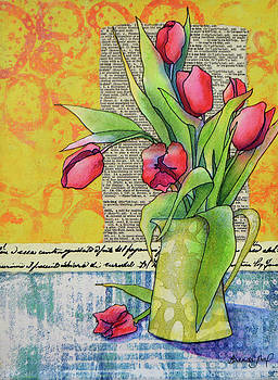 Tulips For Me by Brenda Jiral