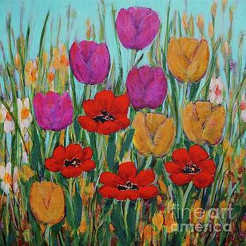 Tulips by Gail Kent