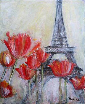 Tulips in Paris by Denice Palanuk Wilson