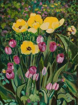 Tulips in the Capitol 2 by Fran Steinmark