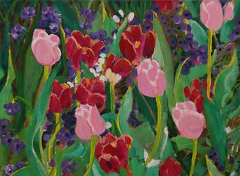 Tulips in the Capitol by Fran Steinmark