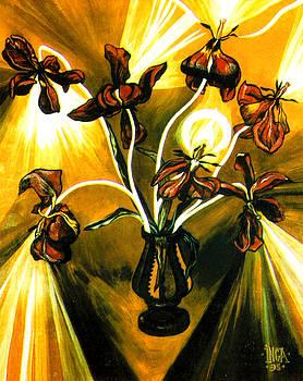 Tulips by Inga Vereshchagina