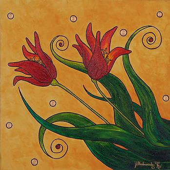 Tulips by Jill Kelsey