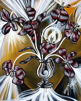 Tulips Light by Inga Vereshchagina