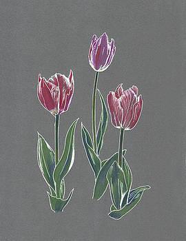 Tulips by Masha Batkova