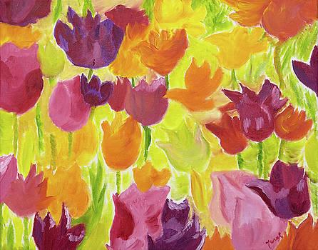 Illuminating Tulips by Meryl Goudey