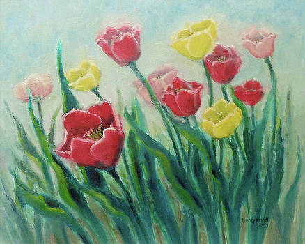 Tulips by Nancy Heindl