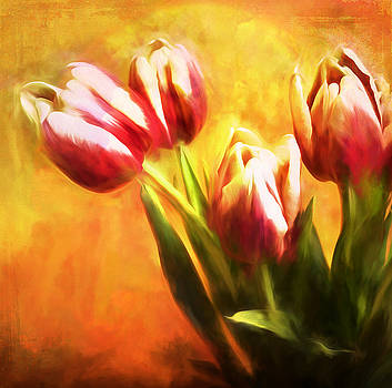 Tulips no 7 by James Bethanis