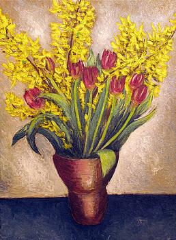 Tulips  by Vladimir Kezerashvili