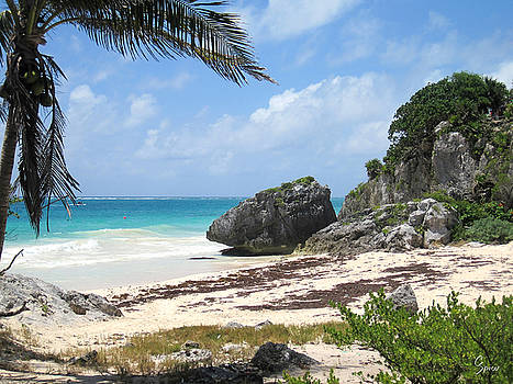 Tulum Beach by Christopher Spicer