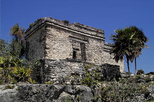 Tulum Ruins Mexico by Kimberly Blom-Roemer