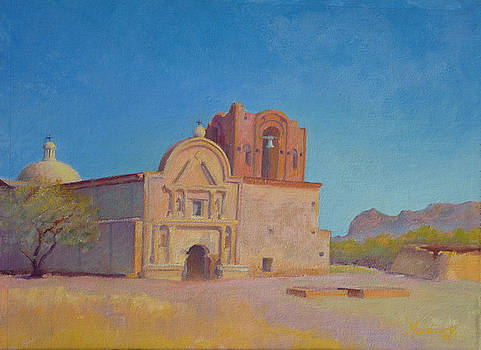 Tumacacori Mission by John Marbury