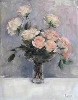 Tumbling Roses by Chris  Saper