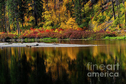 Tumwater Autumn by Mike Dawson