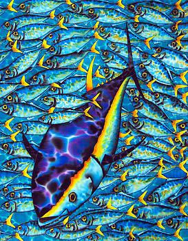 Tuna and Yellotail Scad by Daniel Jean-Baptiste