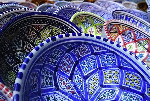 Tunisia Pottery Dishes by Exploramum Exploramum