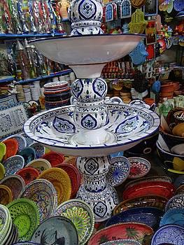 Tunisia Pottery Store by Exploramum Exploramum